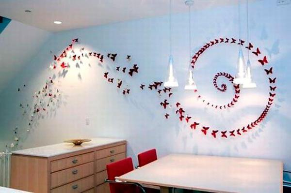 Как сделать декоративную бабочку