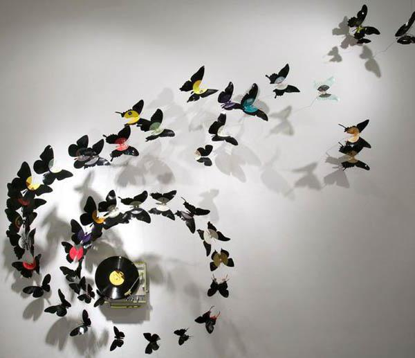 Декоративные бабочки для интерьера