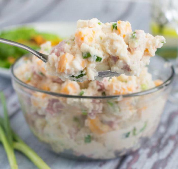 Салат из ветчины рецепты с