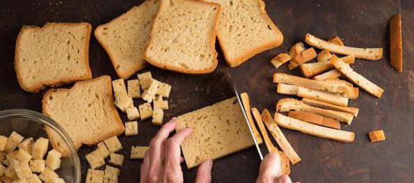 рецепты из хлеба