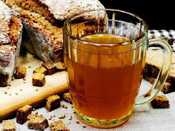 как приготовить пиво из хлеба