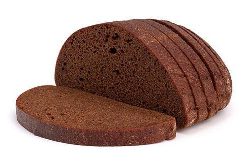 отрубной хлеб калории
