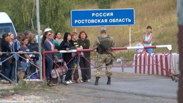 выезд за границу с украины