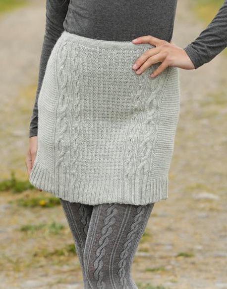 вязание юбки для девочки спицами с описанием