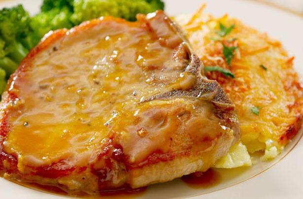 Свинина в горчичном соусе в духовке рецепт