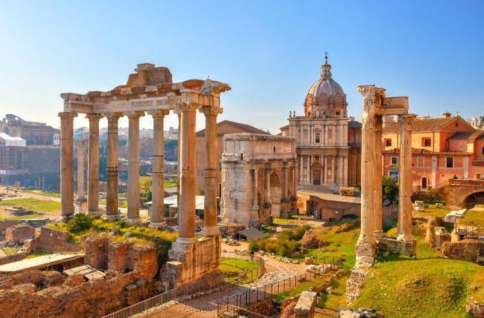 вечный город рим и его жители