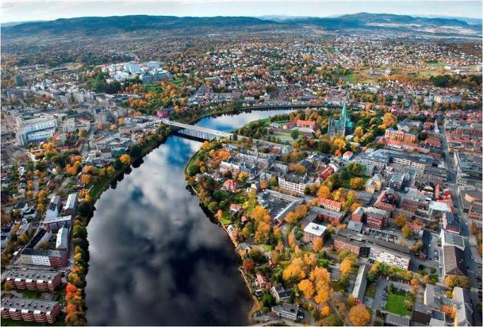 самые крупные города норвегии