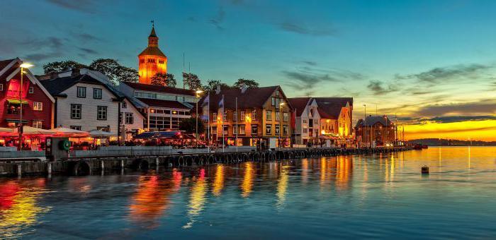 крупные города норвегии список