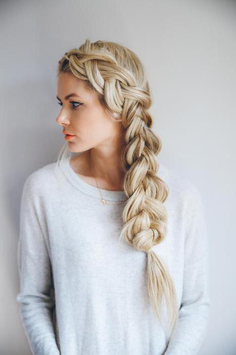 Прическа греческая коса