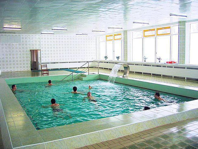 санатории калининграда и калининградской области с бассейном