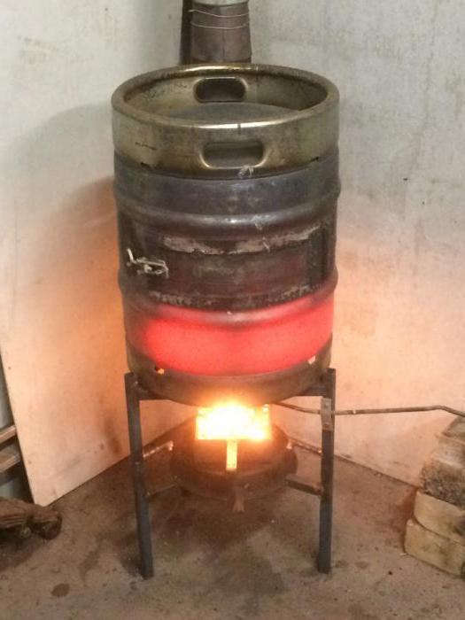 Как из бочки сделать печь для сжигания  375