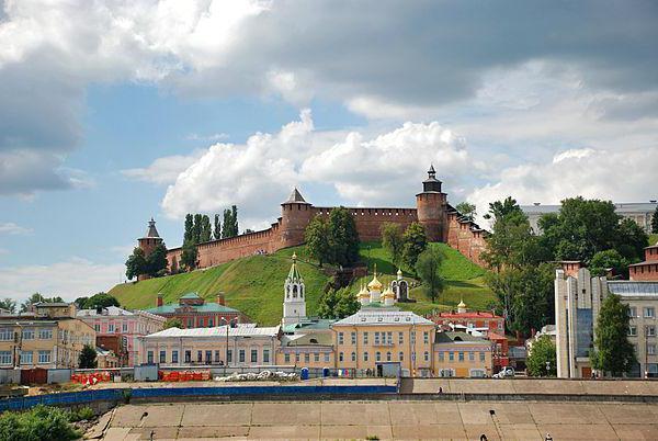 Нижегородский Кремль Зачатьевская башня где находится