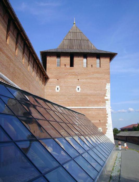 Зачатьевская башня Нижегородского Кремля описание