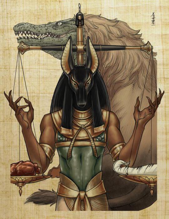 анубис бог египта