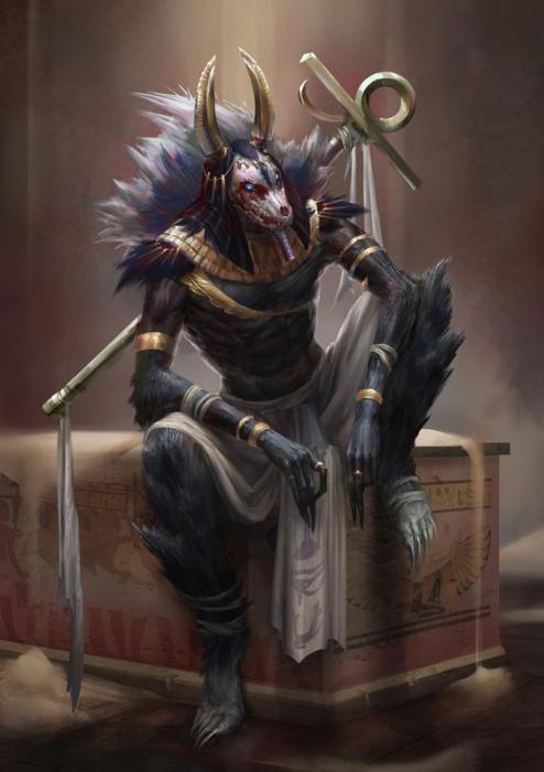 древний бог анубис
