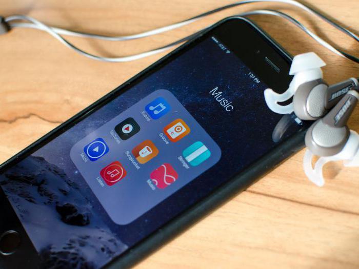 как скачивать музыку на айфон 6