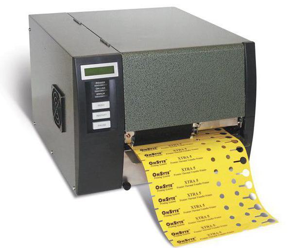 принтер термотрансферный