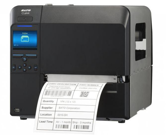 принтеры для термотрансферной печати