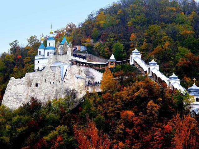 донецкая область святогорский монастырь