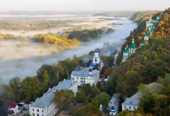 украинская православная церковь святогорский монастырь