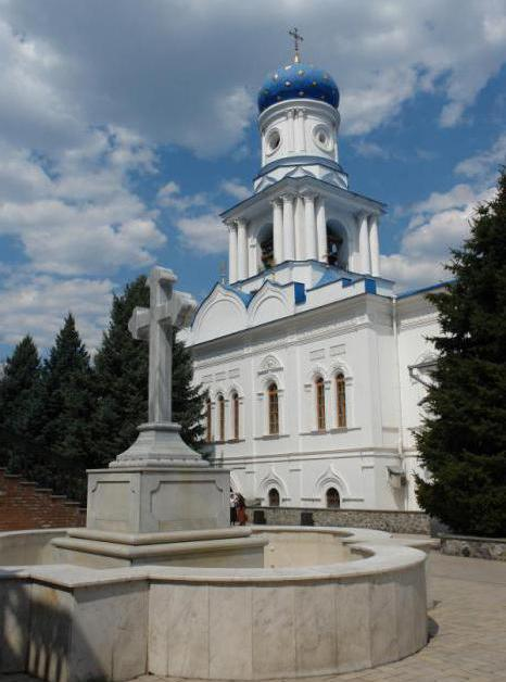 реликвии и святыни святогорского монастыря