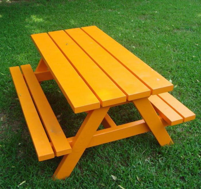 стол и скамейки для беседки своими руками
