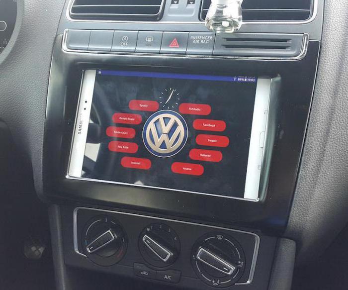 планшет к магнитоле в машине своими руками