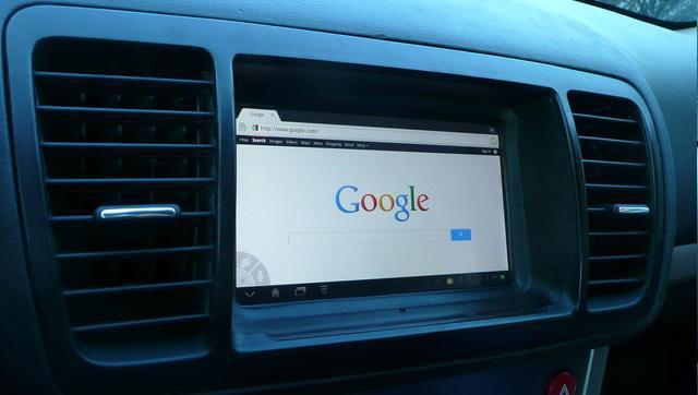 планшет в автомобиль вместо магнитолы