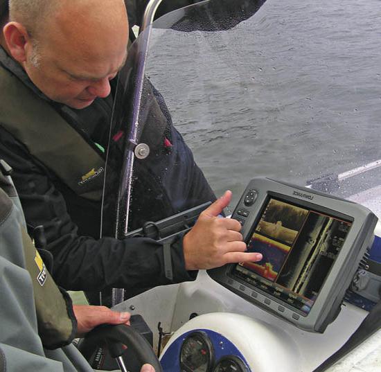модели эхолотов для рыбалки с берега