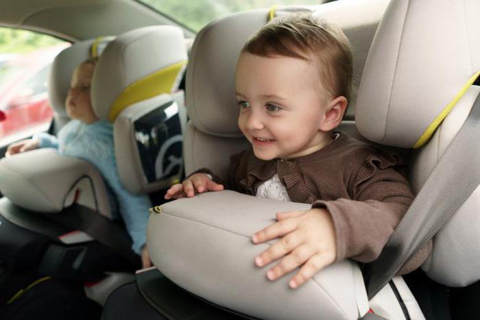 закон о перевозке детей в автомобиле 2017