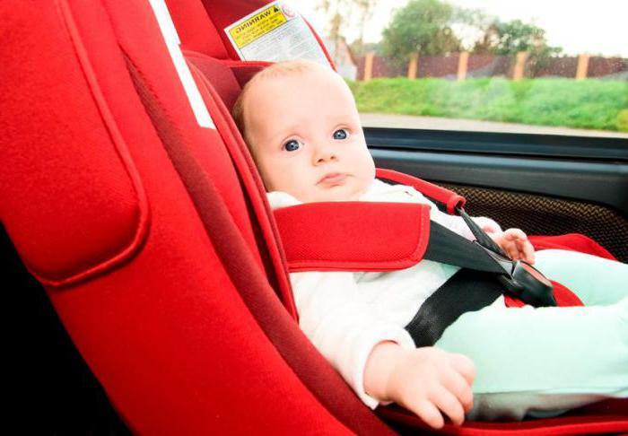 новый закон о перевозке детей в автомобиле