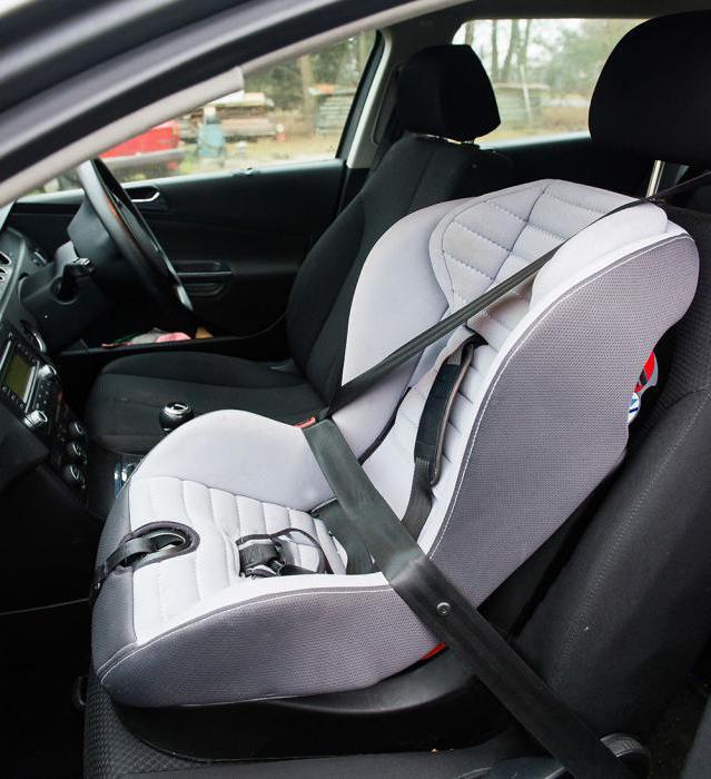 правила перевозки детей в автомобиле закон