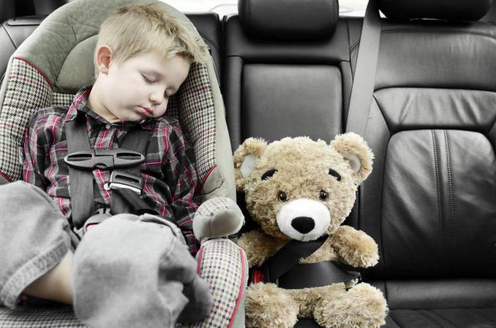 перевозка детей в автомобиле закон принят