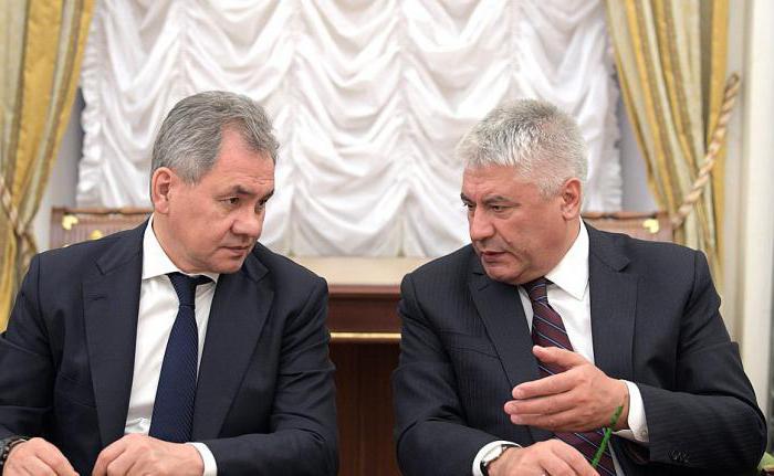 министр МВД РФ Колокольцев