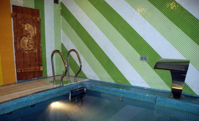сауна в жуковском с бассейном