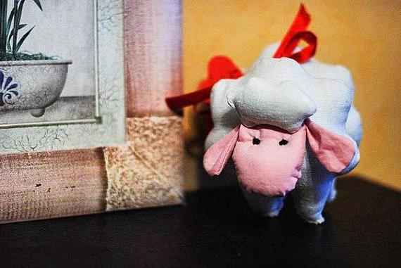 Шьем овечку Бяшка