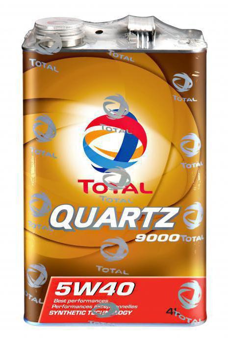 масло тотал кварц 9000 5w40 цена