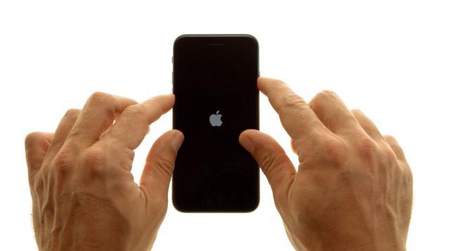 как перезагрузить айфон 7 двумя кнопками фото