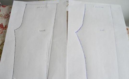 сшить джинсы ребенку из старых джинс выкройки