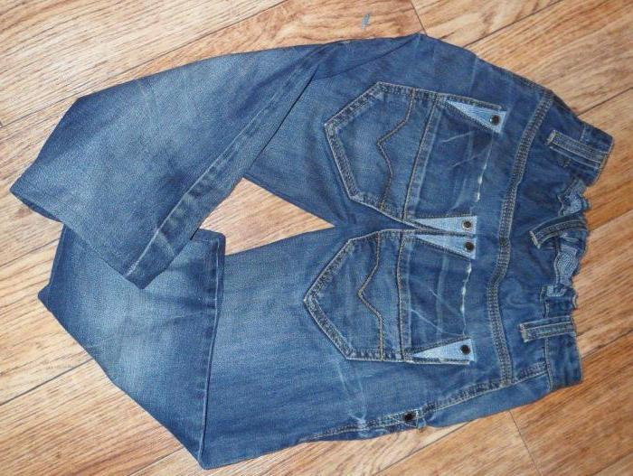 Как сшить ребенку джинсы из старых джинс