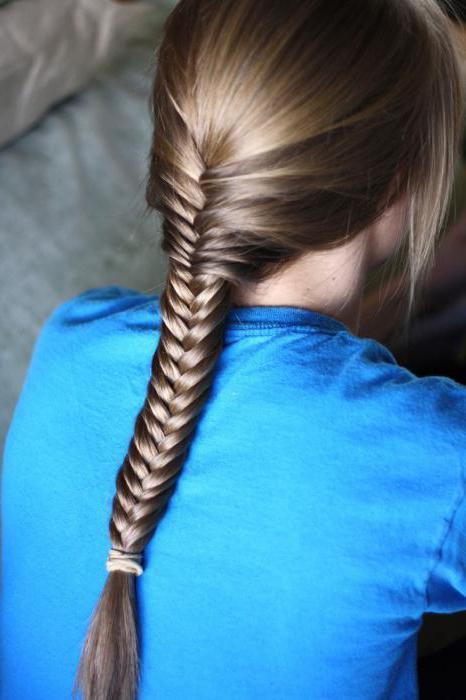 как заплести колосок самой на короткие волосы