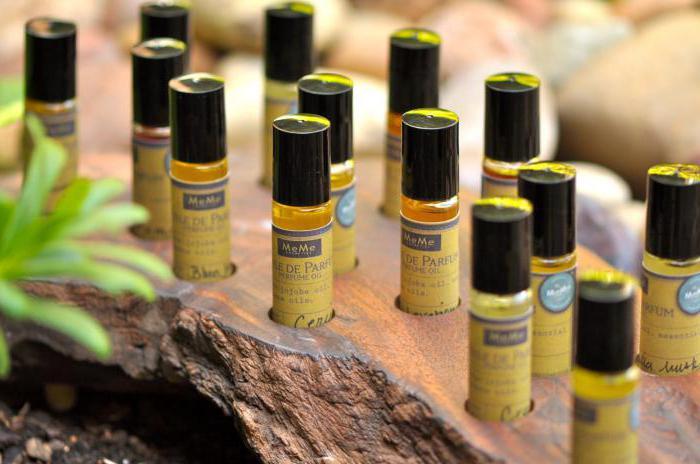состав парфюмерного масла