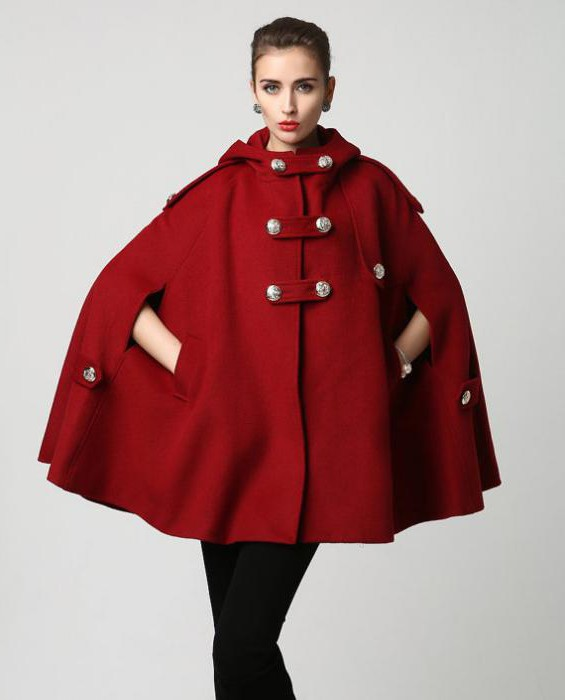 кейп пальто