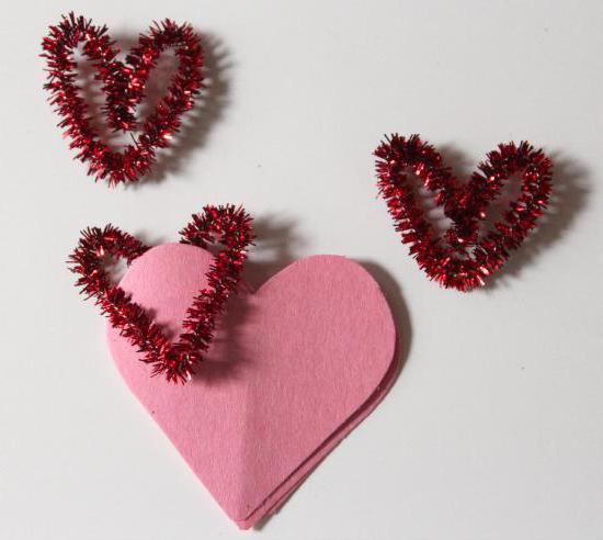 как сделать закладку из скрепки сердечко