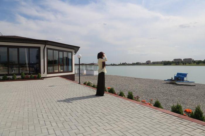Грозненское море: фонтан, открытие