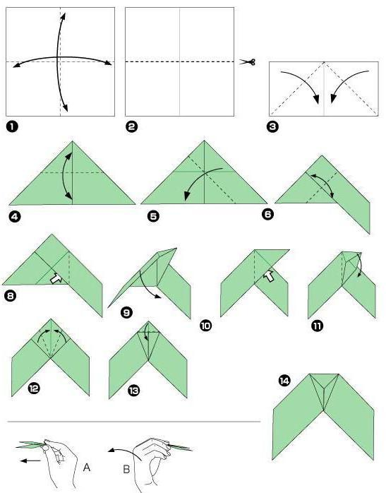 бумеранг оригами