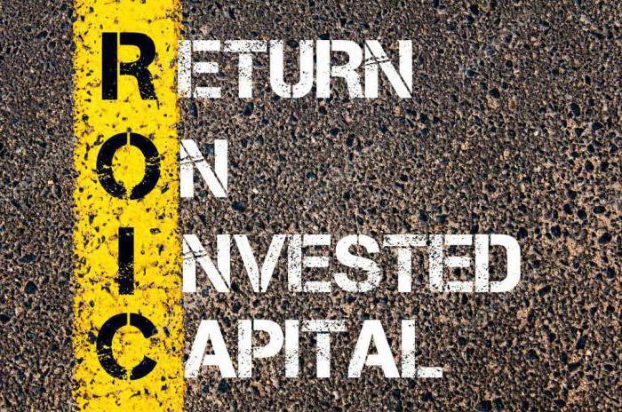коэффициент рентабельности инвестированного капитала