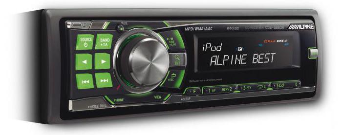 автомагнитола alpine cde 9880r