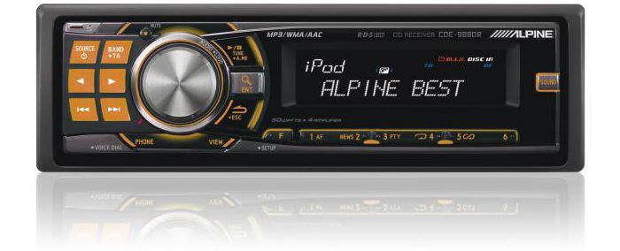 магнитола alpine cde 9880r