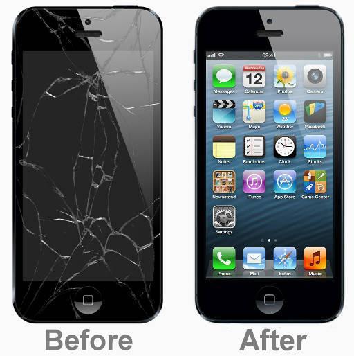 заменить стекло на 5 айфоне